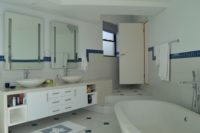 Master Bathroom with double basin, double toilet, double shower and views.JPG