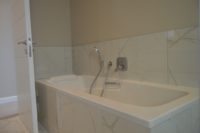 Guest Bedroom 3 Bathroom - Bath, Shower and Toilet.JPG